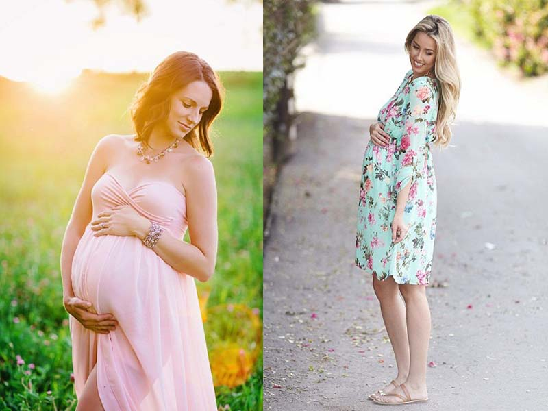 Summer dresses during pregnancy