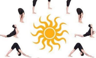 surya namaskar sun salutation steps  how to do and