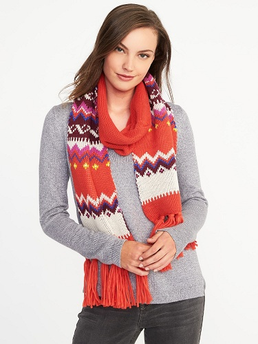 Sweater Knit Scarf