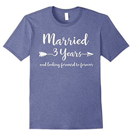22bafc7556f5 Giving t-shirts would be an ideal leather anniversary gifts for him. The  simple plain t-shirt carries a message that their relation is growing with  love and ...