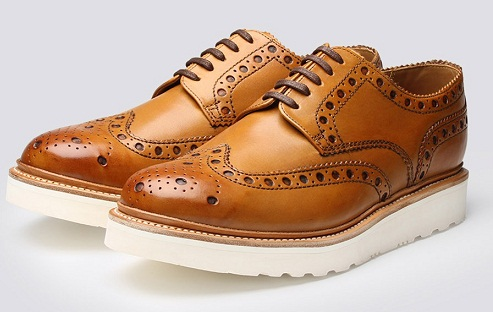Teenager Tan Brogues