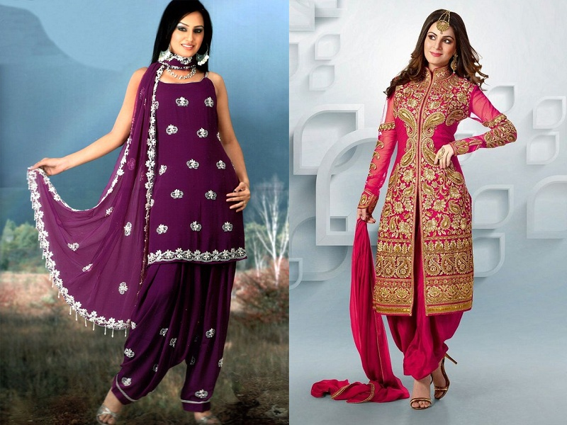 Traditional Salwar Kurta Designs for Womens