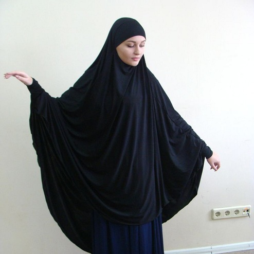 Traditional Long Hijab Scarf