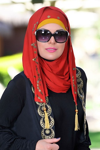 Trendy Hijabs with Tassels