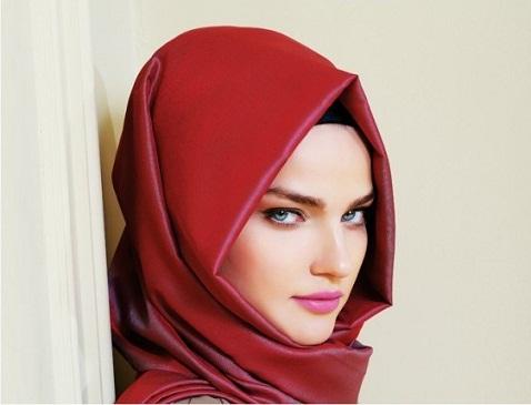 Triangular Face Shape Hijab Designs