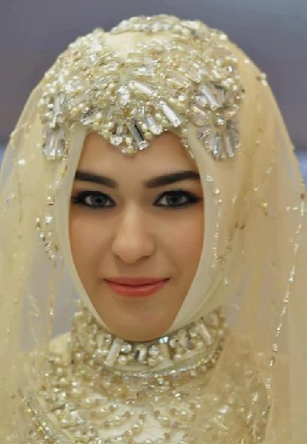 Turkish Wedding Hijab