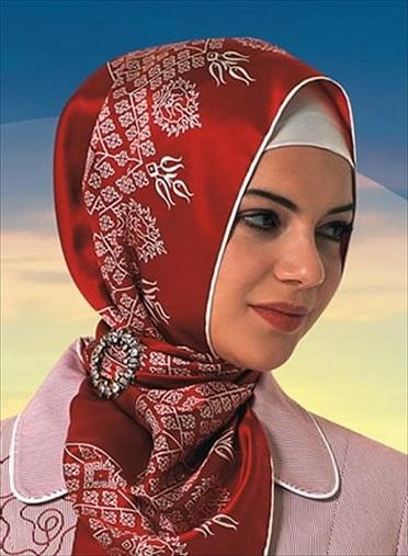 Turkish Hijab Scarf Style