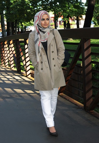 Turkish Style Hijab for Women