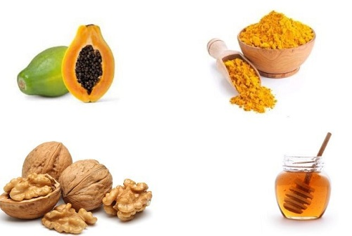 Turmeric Walnut Face Mask