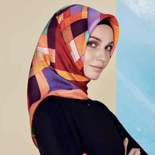 Velvety Hijab Scarf