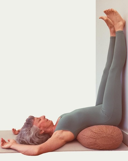Viparita Karani: (Inverted Lake Pose)