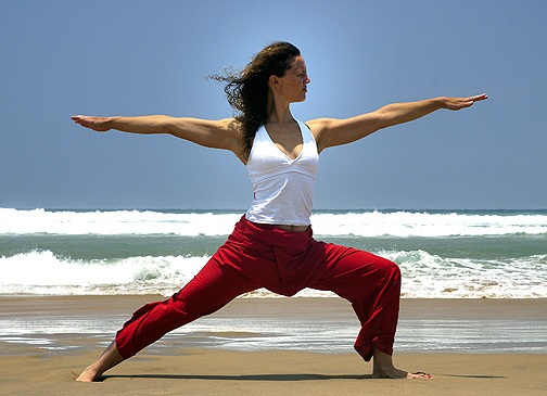 Virabhadrasana or The Warrior Pose