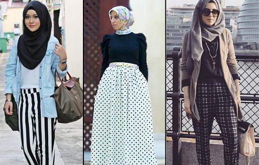 Western Hijab Style