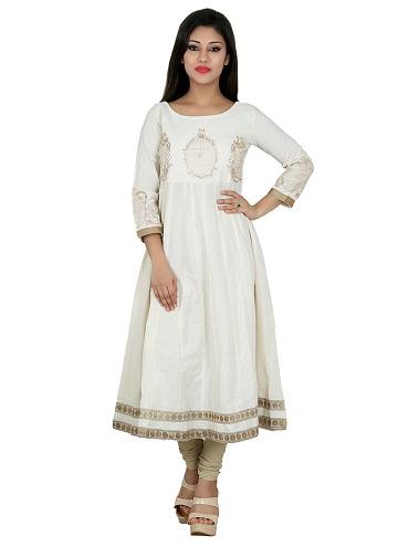 white kurti