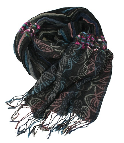 Woven Design Scarf for Women