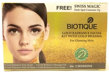 Biotique Gold Radiance with Gold Bhasma Facial Kit