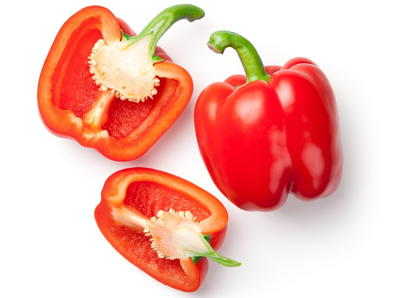 health benefits of red bell pepper