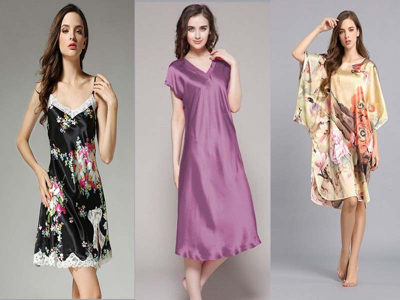 silk nighties