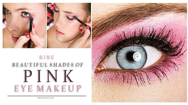Shades of Pink Eye Makeup