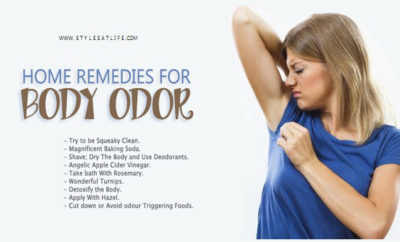 tips for body odor