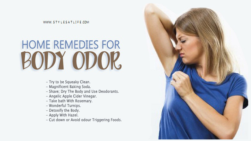 9 Worthwhile Home Remedies for Body Odor with Causes and