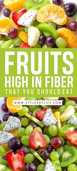 Fruits High In Fiber That You Should Eat