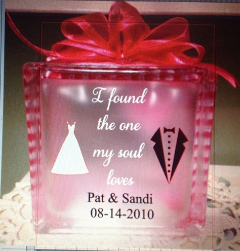 Acrylic Block Gift