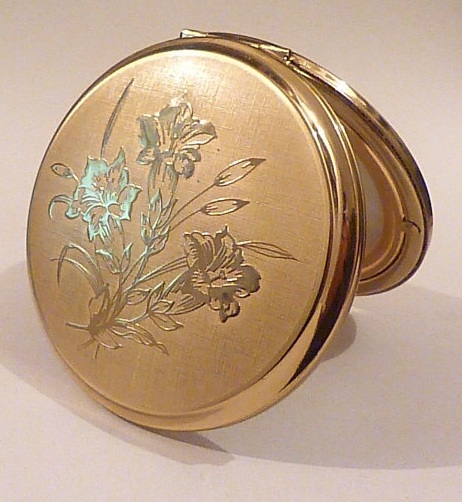 Antique Pocket Mirror for Her