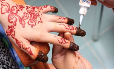 How to Apply Henna on Nails