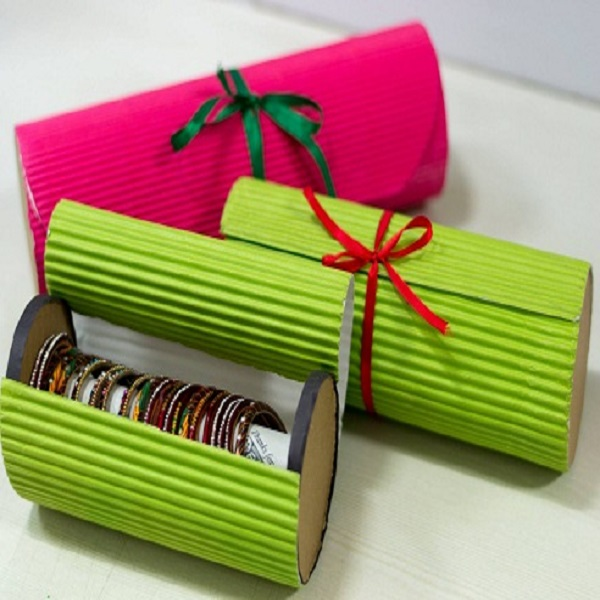 How to Make a Bangle Box at Home