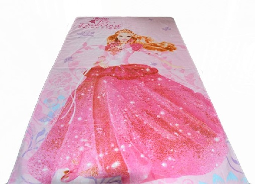 Barbie Theme Towel