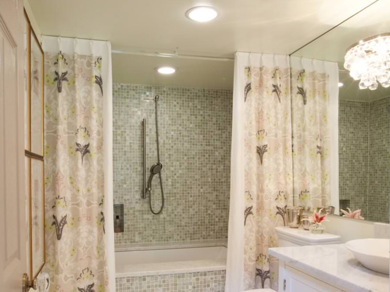 Bathroom Curtain Designs