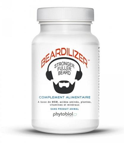 Beardilizer Facial Hair and Beard Growth Complex for Men