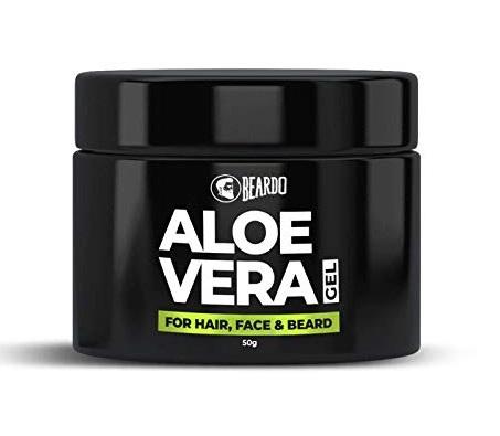 Beardo Aloe Vera Gel for face, Hair and Beard