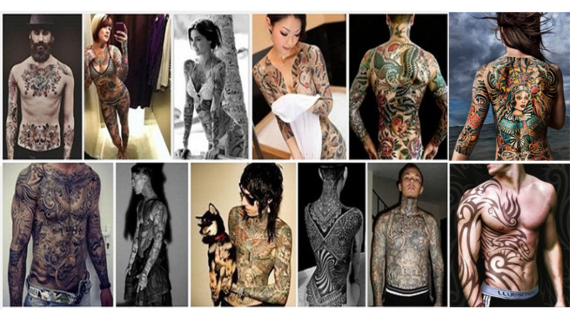 Best Full Body Tattoo Designs
