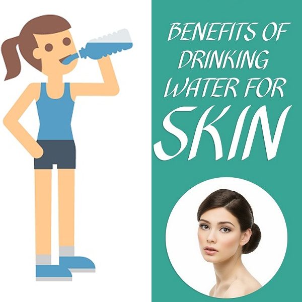 Benefits Of Water For Glowing Skin