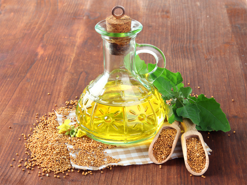 mustard oil for cholesterol