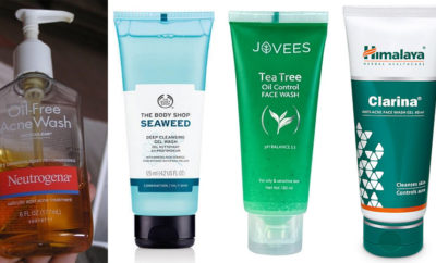 Antibacterial Face Washes