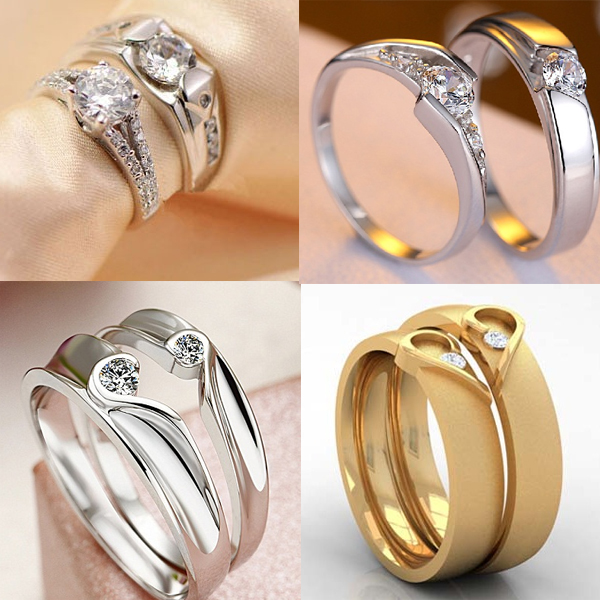 94ae1ff186 15 Best Designs of Engagement Rings for Couples in India