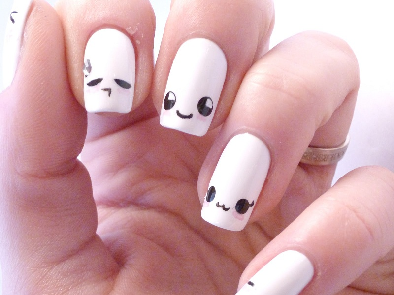 - 9 Cute Kawaii Nail Art Designs With Pictures Styles At Life