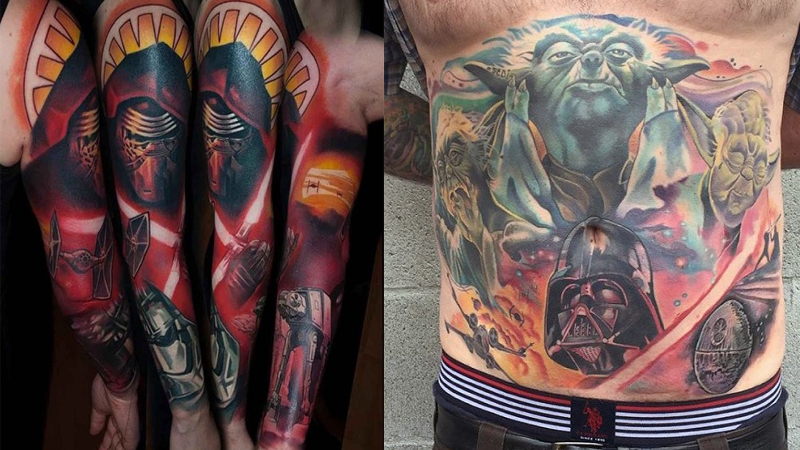 Best Star Wars Tattoos Design Ideas End of The World