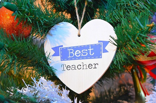Best Teacher Wall Hanging Gift