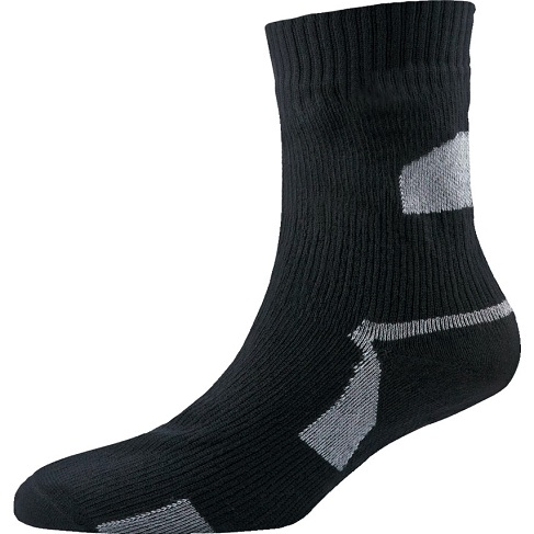Black and Grey Ankle Socks