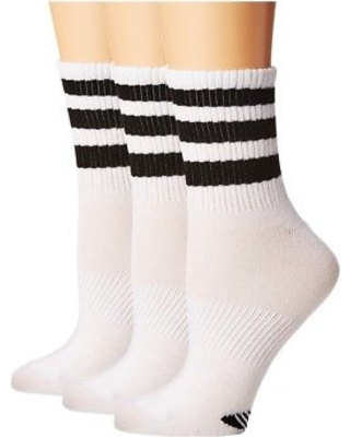 Black and White Ankle Socks