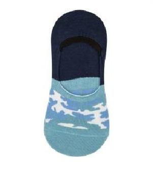 Blue Printed Socks