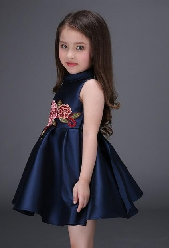 a2d02f9813f0 ... on your little girl than this basic collection of young girls dress. It  is as cutest as she is, and also comfortable too. It is made using velvet  ...