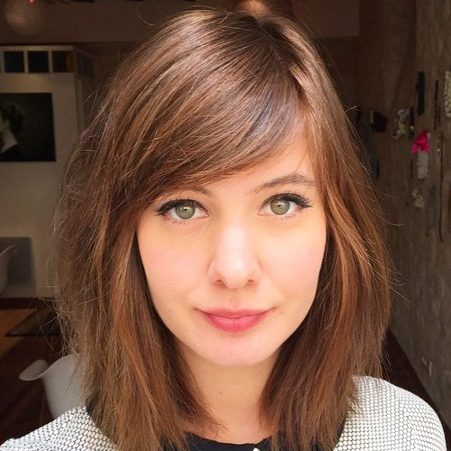 Side Swept Bangs