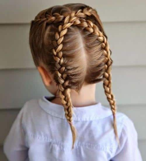 10 Best And Latest Braid Hairstyles For Kids In 2020 Styles At Life