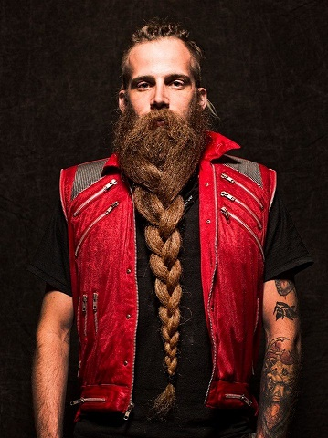 Braided Long Beard