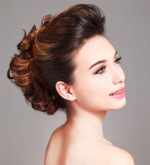 Wedding Hairstyle For Chubby Face: 15 Latest Bridal Hairstyles For Round Face In 2020